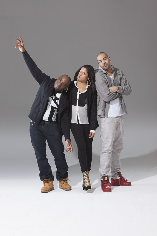 The Breakfast Club, Angela Yee, Charlamagne The God, DJ Envy